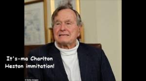 Bush doing Charlton