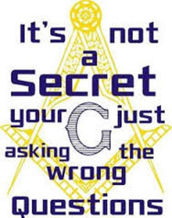 It's not a secret, god ~