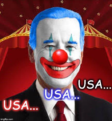 Jow Buden Clown ~ USA ISA ISA ~