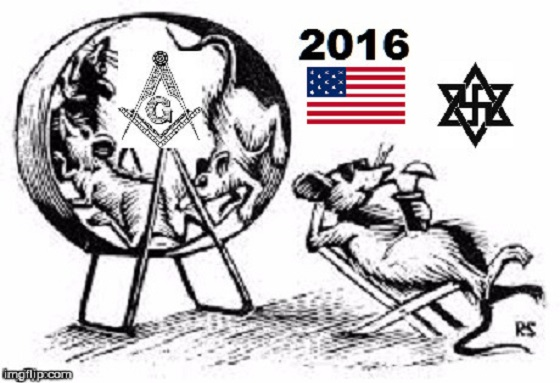 American Zionist Rat wheel ~