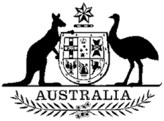 Australian coat of arms ~