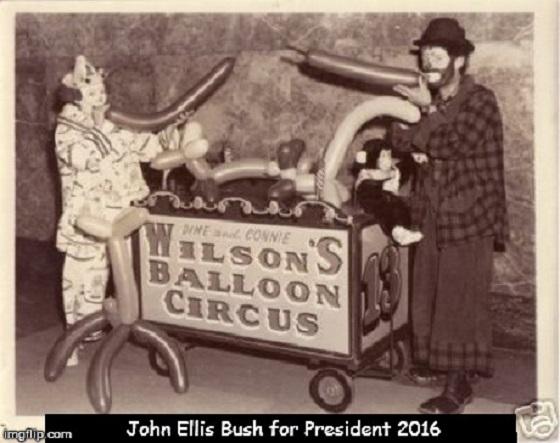 John Ellis Bush for president ~ Balloon ~
