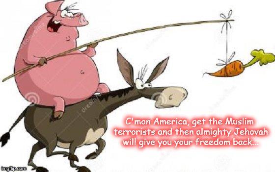 Pigs Muslims America ~