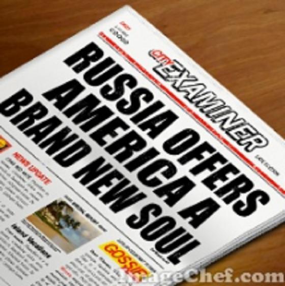 Russia offers America a brand new soul ~