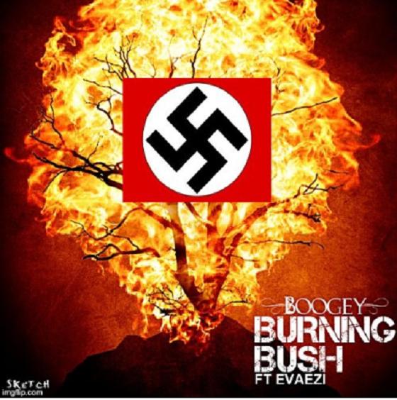 Swastika Burning Bush ~ 560