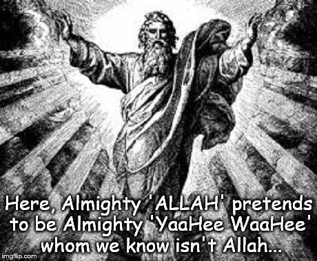 Almighty Allah God ~
