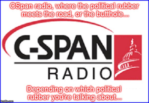 CSpan Radio rubber ~