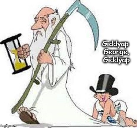 Giddyap George ~ Father Time 560