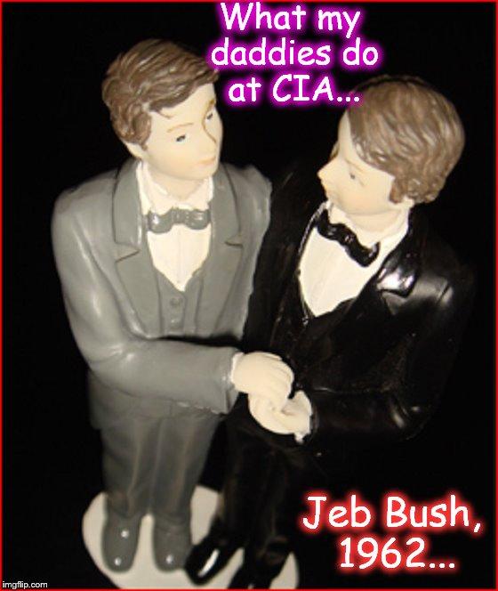 Jeb Bush Diorama 1962 ~