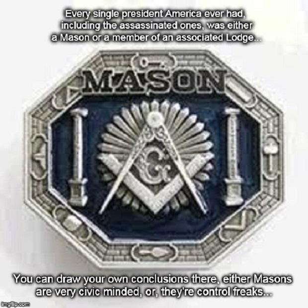 Masonic Ring President statement ~