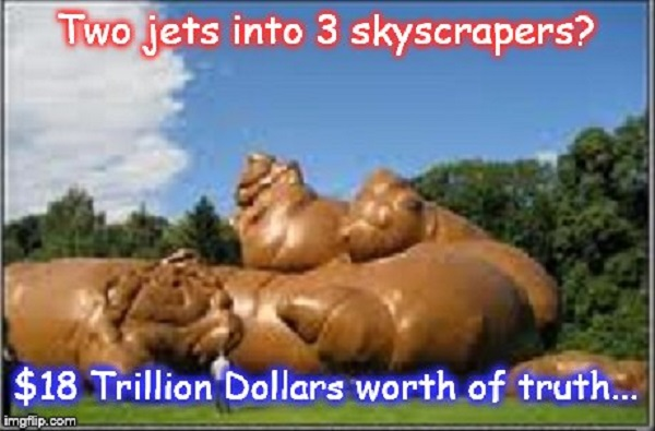 Two jets = $18 Trillion Dollar Turd ~
