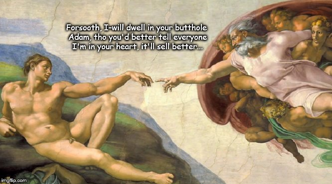 Adam and the Jewish god