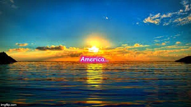 America Sunset