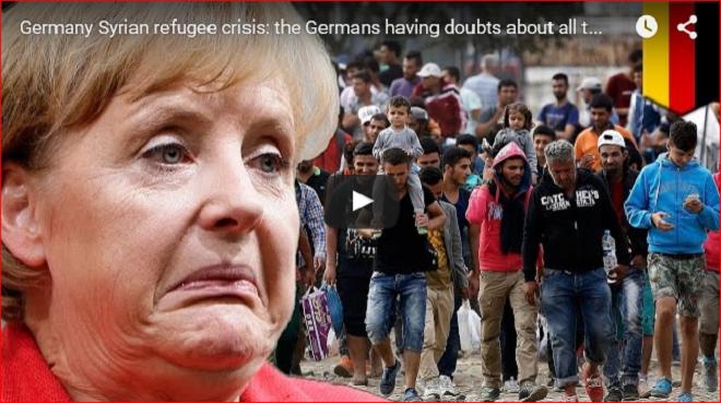 Angela Merkyl German refugee crisis lie