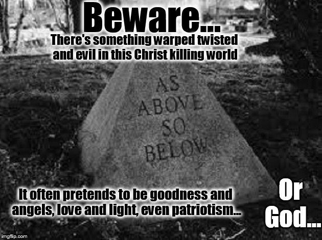 As Above So Below Beware