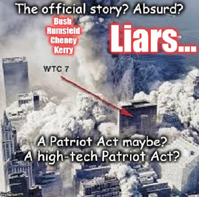 Bush Cheney Rumsfeld Kerry Liars 911 630