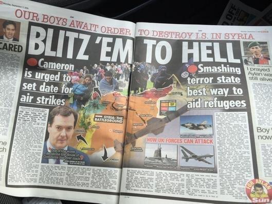 Cameron blitz them to hell