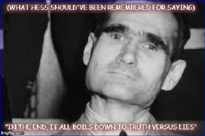 Hess on truth ~ 600 ~