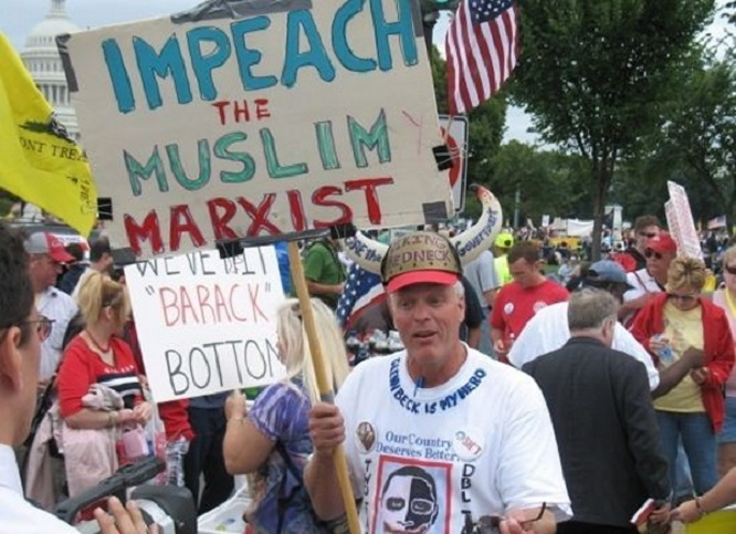 Impeach the Marxist Muslim