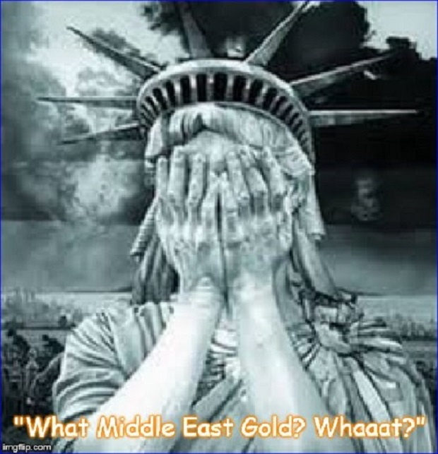 Lady Liberty ~ What Middle East gold ~