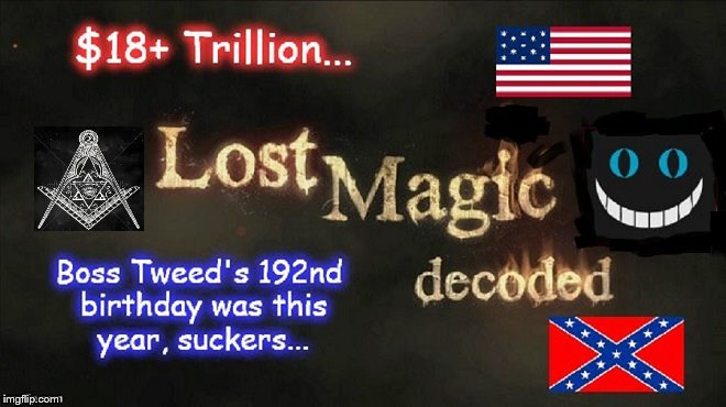 Lost Magic decoded Boss TWEED MASON 18 Trillion