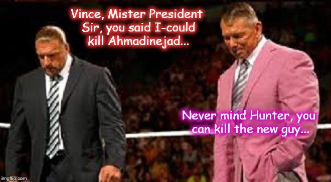 Vince Hunter Mr President x Ahmadinejad