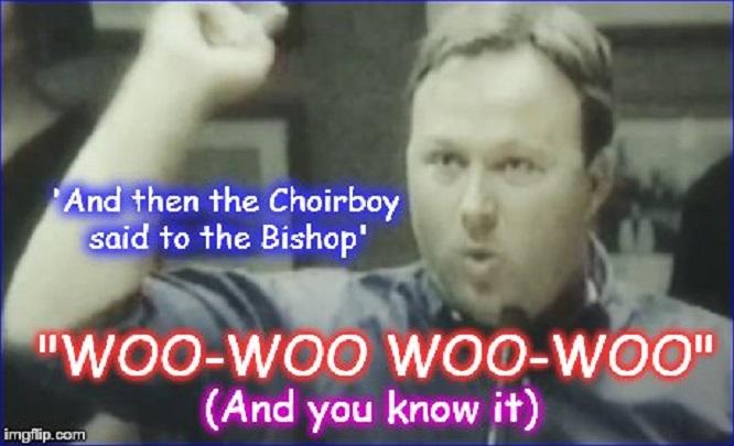 Alex Jones Bill Hicks ~ Choirboy and Bishop ~