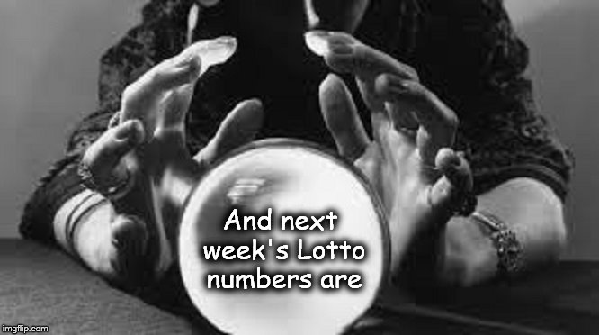 Crystal Ball Lotto numbers