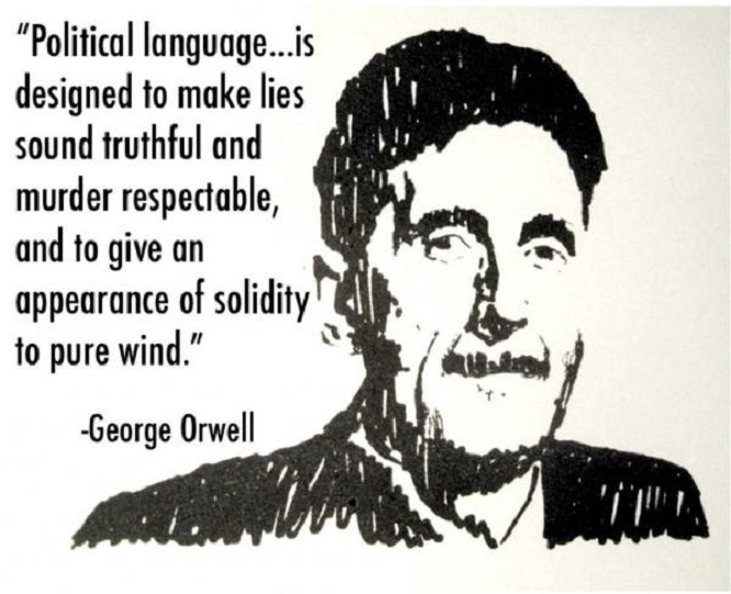 George Orwell Political Language