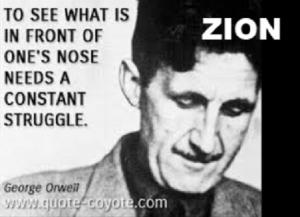 George Orwell ZION