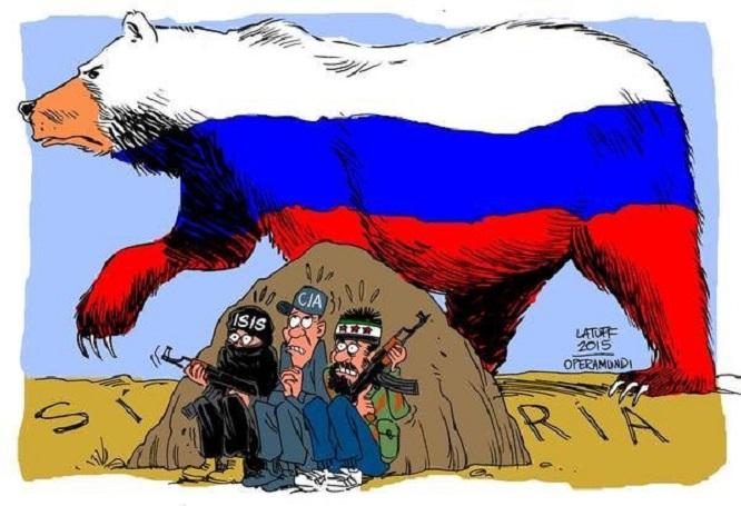 Iran wearing the Russian bear