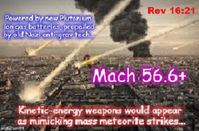Kinetic energy weapon Mack 56.6 ~ 660