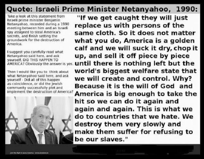 Netanyahu German Jew pig 666