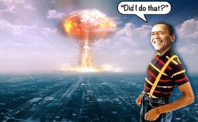 Obama bang nuke