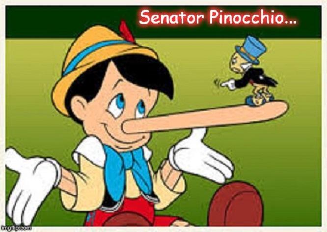 Senator Pinocchio