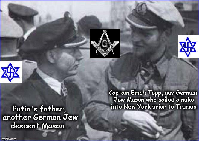 Topp ~ Putin's father ~ Masons German Jews