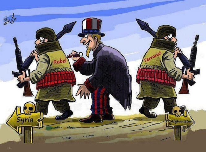 Uncle Sam the decider ~ Syria Afghan terrorist