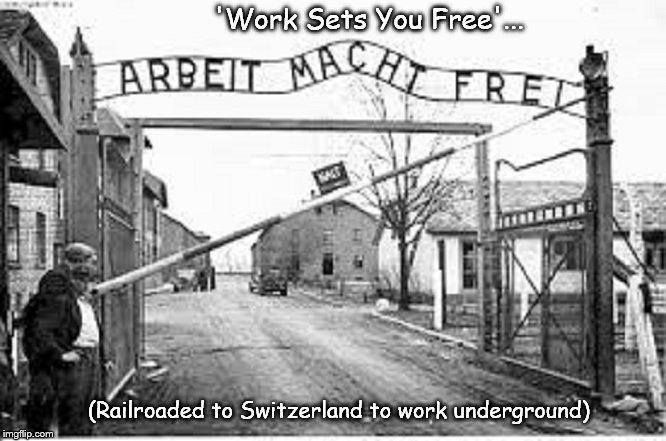 Work Sets You Free in Switzerland