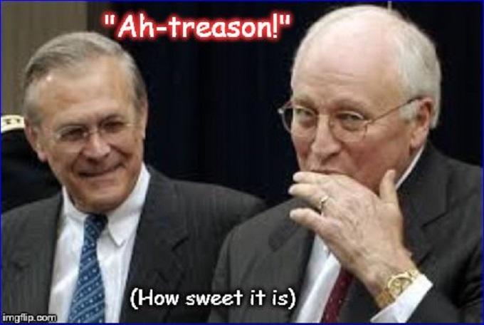 Ah-treason, how sweet it is