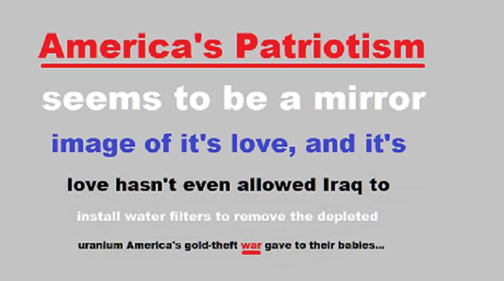 America's Patriotism