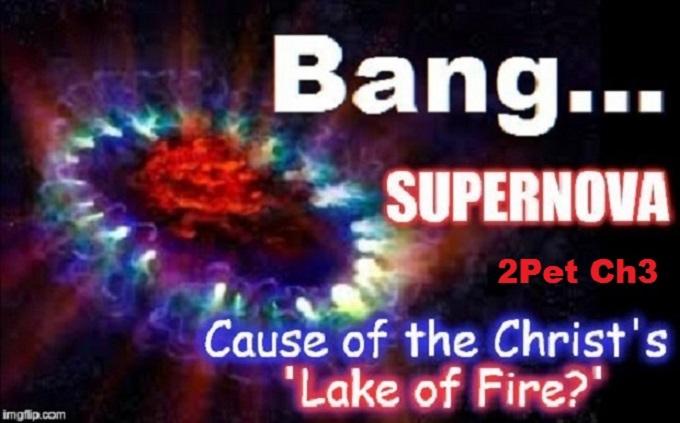 Christ's Lake of Fire ~ Supernova ~