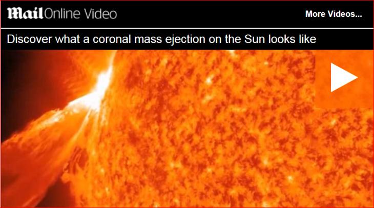 Coronial mass ejection