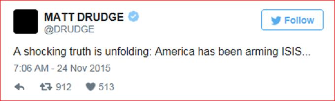 Drudge Tweet screenshot 'PP'