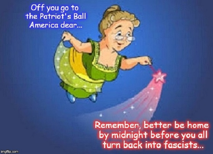 Fairy Godmother Patriot's Ball Fascists