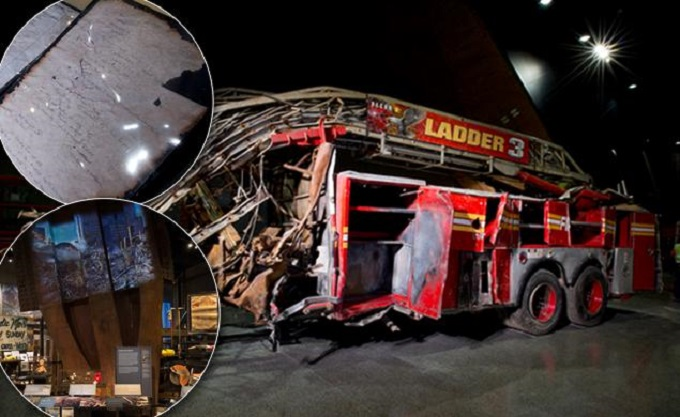 Fire Truck 9-11-memorial-museum