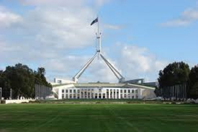 Flag Canberra Parliament