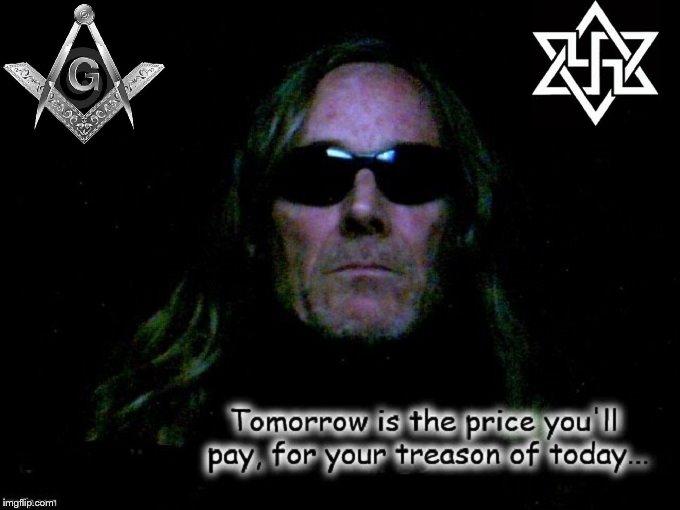 Hades Mason Nazi Treason Robby