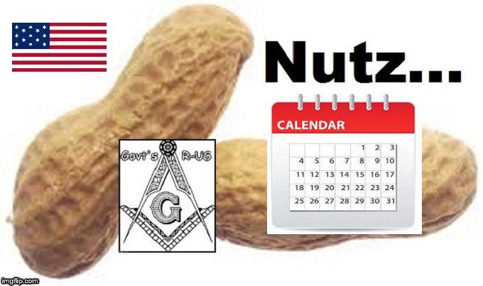 MUTZ Nuts CALENDA AMERICAN FLAG