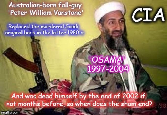 Osama ~ Peter William Vanstone ~ CIA ~