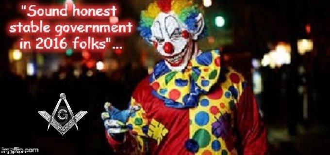 Razzle the 2016 Masonic Clown